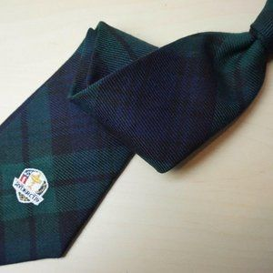 Polo Ralph Lauren Blue Green Plaid Blackwatch tie